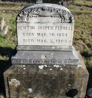 FERRELL, NEWTON JASPER - Marion County, Oregon | NEWTON JASPER FERRELL - Oregon Gravestone Photos