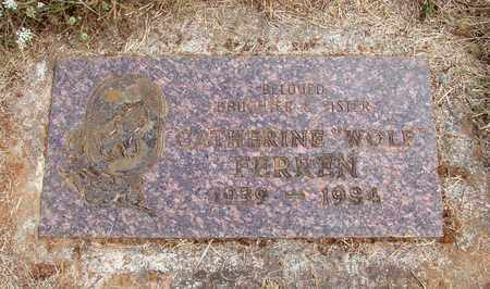 WOLF, CATHERINE - Marion County, Oregon | CATHERINE WOLF - Oregon Gravestone Photos