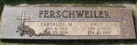 FERSCHWEILER, FRED J - Marion County, Oregon | FRED J FERSCHWEILER - Oregon Gravestone Photos