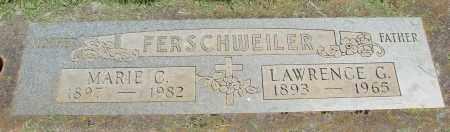 FERSCHWEILER, LAWRENCE GABRIEL - Marion County, Oregon | LAWRENCE GABRIEL FERSCHWEILER - Oregon Gravestone Photos