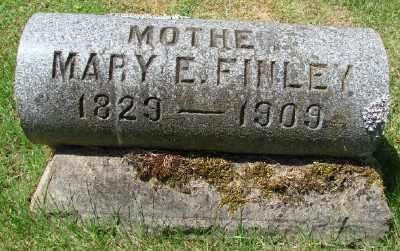 WARD FINLEY, MARY ELIZABETH - Marion County, Oregon | MARY ELIZABETH WARD FINLEY - Oregon Gravestone Photos