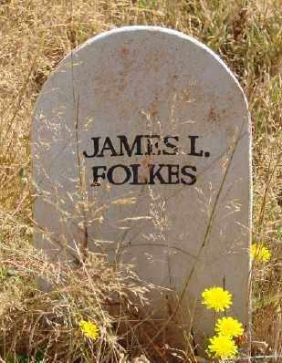 FOLKES (MEX), JAMES L - Marion County, Oregon   JAMES L FOLKES (MEX) - Oregon Gravestone Photos