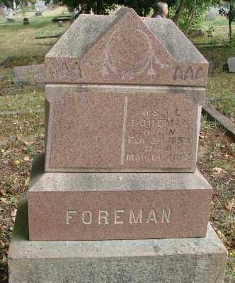 FOREMAN, ASA L - Marion County, Oregon   ASA L FOREMAN - Oregon Gravestone Photos