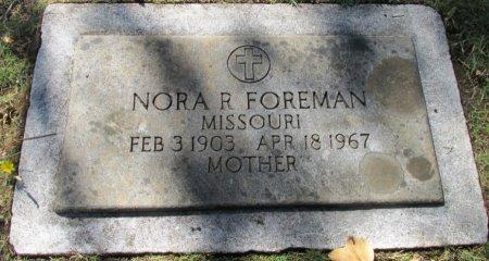 FOREMAN, NORA R - Marion County, Oregon | NORA R FOREMAN - Oregon Gravestone Photos
