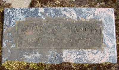 FRANCIS, CHARLES - Marion County, Oregon | CHARLES FRANCIS - Oregon Gravestone Photos