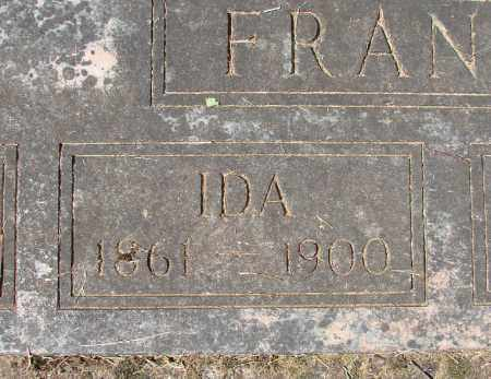 FRANCIS, IDA B - Marion County, Oregon | IDA B FRANCIS - Oregon Gravestone Photos
