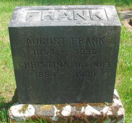 FRANK, AUGUST - Marion County, Oregon | AUGUST FRANK - Oregon Gravestone Photos