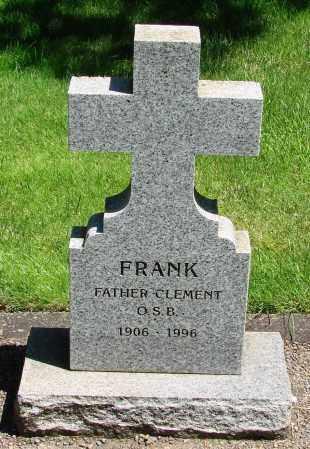 FRANK, CLEMENT - Marion County, Oregon   CLEMENT FRANK - Oregon Gravestone Photos