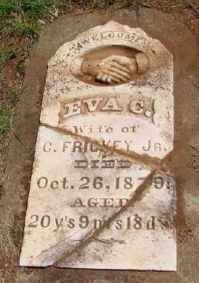 FRICKEY, EVA C - Marion County, Oregon | EVA C FRICKEY - Oregon Gravestone Photos