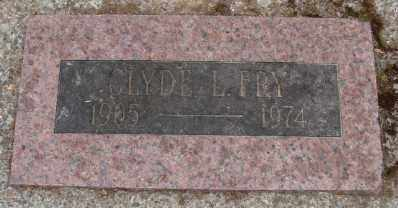 FRY, CLYDE LEONARD - Marion County, Oregon   CLYDE LEONARD FRY - Oregon Gravestone Photos