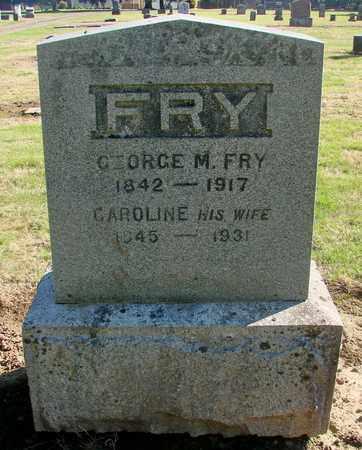 FRY, GEORGE M - Marion County, Oregon | GEORGE M FRY - Oregon Gravestone Photos