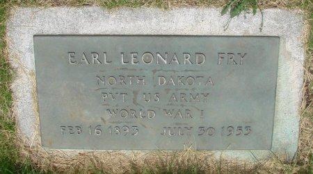 FRY, EARL LEONARD - Marion County, Oregon   EARL LEONARD FRY - Oregon Gravestone Photos