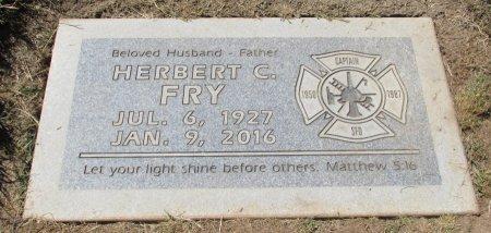 FRY, HERBERT C - Marion County, Oregon | HERBERT C FRY - Oregon Gravestone Photos