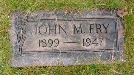 FRY, JOHN M - Marion County, Oregon | JOHN M FRY - Oregon Gravestone Photos