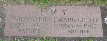 FRY, WILLIAM O - Marion County, Oregon   WILLIAM O FRY - Oregon Gravestone Photos