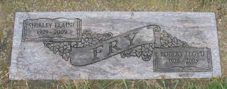 FRY, ROBERT LLOYD - Marion County, Oregon   ROBERT LLOYD FRY - Oregon Gravestone Photos