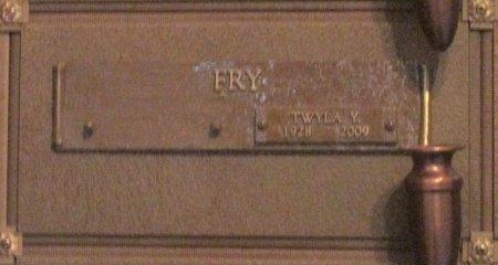 FRY, TWYLA YVONNE - Marion County, Oregon   TWYLA YVONNE FRY - Oregon Gravestone Photos