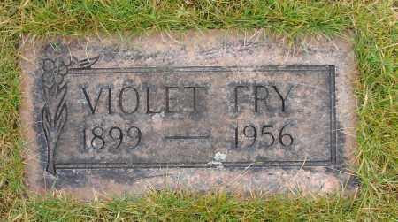 FRY, VIOLET - Marion County, Oregon | VIOLET FRY - Oregon Gravestone Photos