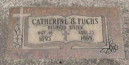 FUCHS, CATHERINE B - Marion County, Oregon   CATHERINE B FUCHS - Oregon Gravestone Photos