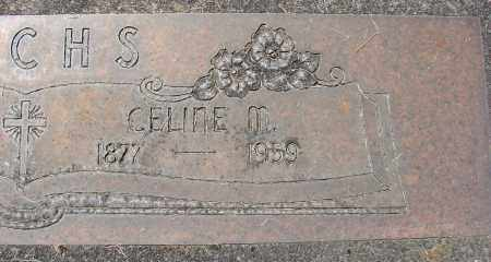 FUCHS, CELINE M - Marion County, Oregon   CELINE M FUCHS - Oregon Gravestone Photos