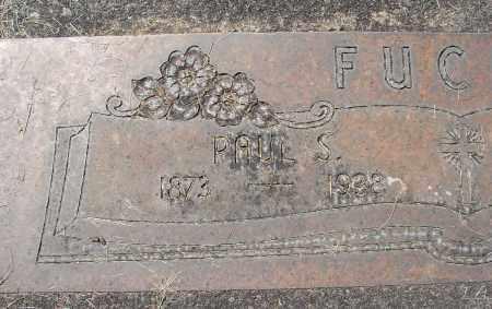 FUCHS, PAUL S - Marion County, Oregon | PAUL S FUCHS - Oregon Gravestone Photos