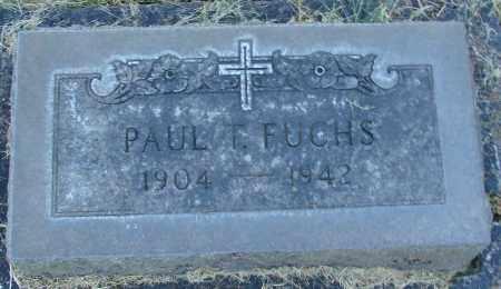 FUCHS, PAUL T - Marion County, Oregon | PAUL T FUCHS - Oregon Gravestone Photos
