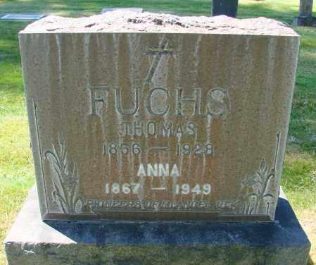 FUCHS, ANNA - Marion County, Oregon | ANNA FUCHS - Oregon Gravestone Photos