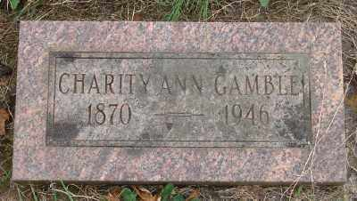 ABERCROMBIE GAMBLE, CHARITY ANN - Marion County, Oregon | CHARITY ANN ABERCROMBIE GAMBLE - Oregon Gravestone Photos