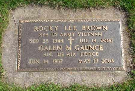 BROWN, ROCKY LEE - Marion County, Oregon | ROCKY LEE BROWN - Oregon Gravestone Photos