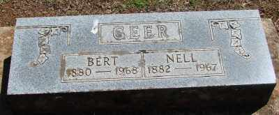 HAGER GEER, NELLIE E - Marion County, Oregon | NELLIE E HAGER GEER - Oregon Gravestone Photos