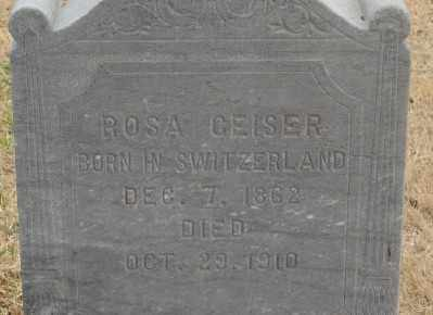 GEISER, ROSA - Marion County, Oregon | ROSA GEISER - Oregon Gravestone Photos