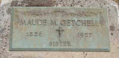 GETCHELL, MAUDE M - Marion County, Oregon | MAUDE M GETCHELL - Oregon Gravestone Photos