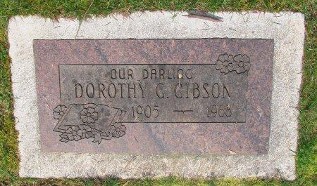 GIBSON, DOROTHY G - Marion County, Oregon | DOROTHY G GIBSON - Oregon Gravestone Photos
