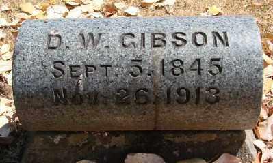 GIBSON, D W - Marion County, Oregon | D W GIBSON - Oregon Gravestone Photos