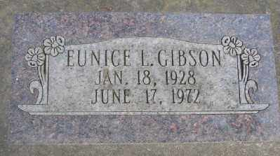 GIBSON, EUNICE L - Marion County, Oregon | EUNICE L GIBSON - Oregon Gravestone Photos
