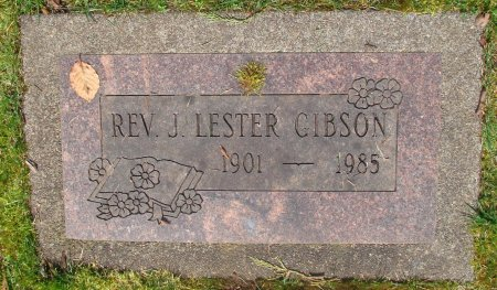 GIBSON, JAMES LESTER - Marion County, Oregon | JAMES LESTER GIBSON - Oregon Gravestone Photos