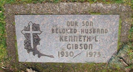 GIBSON, KENNETH L - Marion County, Oregon | KENNETH L GIBSON - Oregon Gravestone Photos