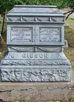 GIBSON, MARY ELLEN - Marion County, Oregon | MARY ELLEN GIBSON - Oregon Gravestone Photos