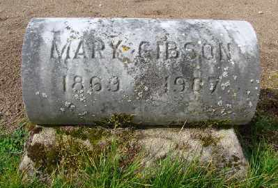 GIBSON, MARY - Marion County, Oregon | MARY GIBSON - Oregon Gravestone Photos