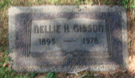 GIBSON, NELLIE H - Marion County, Oregon   NELLIE H GIBSON - Oregon Gravestone Photos