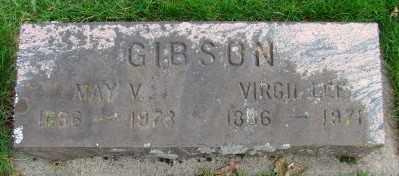 GIBSON, VIRGIL LEE - Marion County, Oregon | VIRGIL LEE GIBSON - Oregon Gravestone Photos