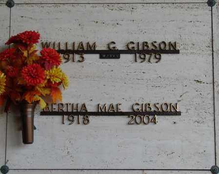 GIBSON, WILLIAM G - Marion County, Oregon | WILLIAM G GIBSON - Oregon Gravestone Photos