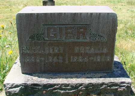 GIER, ENGELBERT - Marion County, Oregon | ENGELBERT GIER - Oregon Gravestone Photos