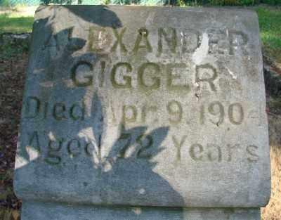 GIGGER, ALEXANDER - Marion County, Oregon | ALEXANDER GIGGER - Oregon Gravestone Photos