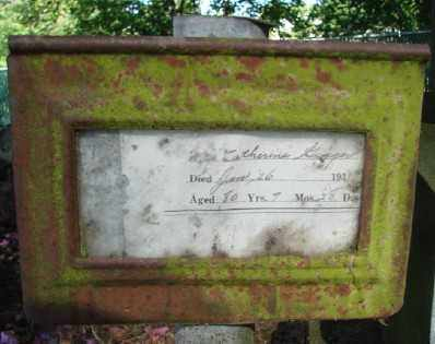 GIGGER, CATHERINE - Marion County, Oregon | CATHERINE GIGGER - Oregon Gravestone Photos