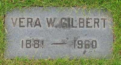 GILBERT, VERA W - Marion County, Oregon | VERA W GILBERT - Oregon Gravestone Photos