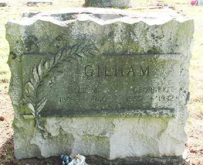 PARTON GILHAM, LILLIE M - Marion County, Oregon | LILLIE M PARTON GILHAM - Oregon Gravestone Photos
