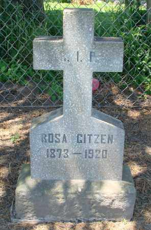 GITZEN, ROSA - Marion County, Oregon | ROSA GITZEN - Oregon Gravestone Photos