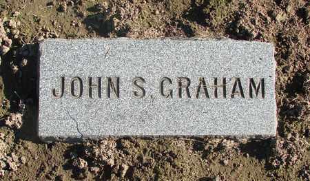 GRAHAM, JOHN S - Marion County, Oregon | JOHN S GRAHAM - Oregon Gravestone Photos