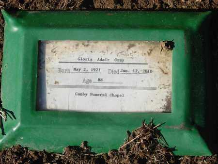 ADAIR, GLORIA - Marion County, Oregon | GLORIA ADAIR - Oregon Gravestone Photos